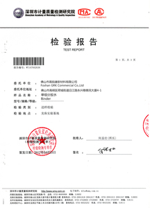 Test Report by Shenzhen Standard