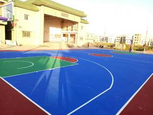 053 top Acrylic synthetic sports flooring