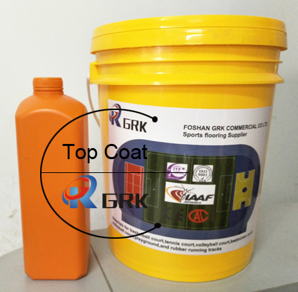 High quality SPU water-born Top coat materials