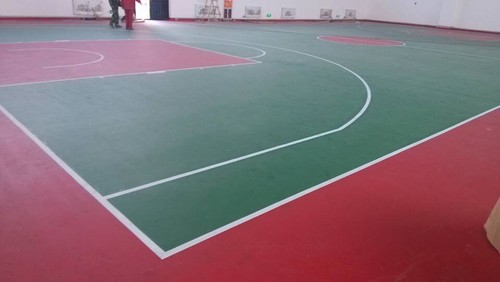 Rwanda indoor basketball court