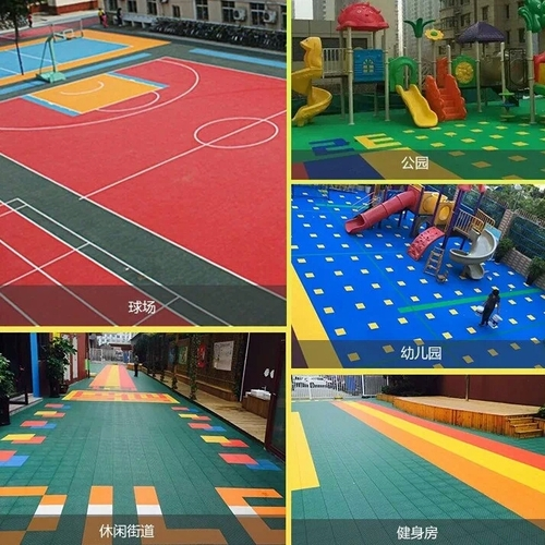 High Quality PP Sports Flooring Outdoor sports Court Flooring